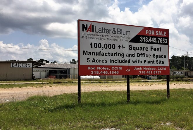 The shuttered Baker Manufacturing plant in Pineville is among a number of properties in and around Alexandria/Pineville that are listed at $1 million or more.