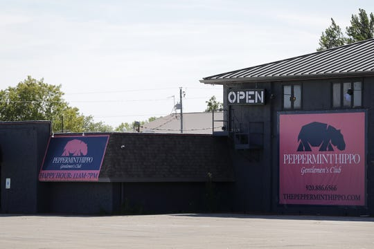 The Peppermint Hippo Gentlemen's Club replaced Stars Cabaret in the Town of Neenah.