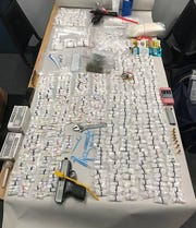 The Cortland County Sheriff's Office seized a loaded handgun, 15 grams of marijuana, over 4 pounds of methamphetamine and cash in a Feb. 19, 2019 drug bust.