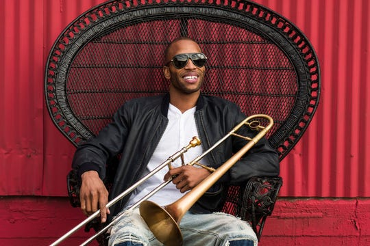 Trombone Shorty & Orleans Avenue perform at 7:35 p.m. Saturday, Sept. 14 at the Grand Point North festival in Burlington.