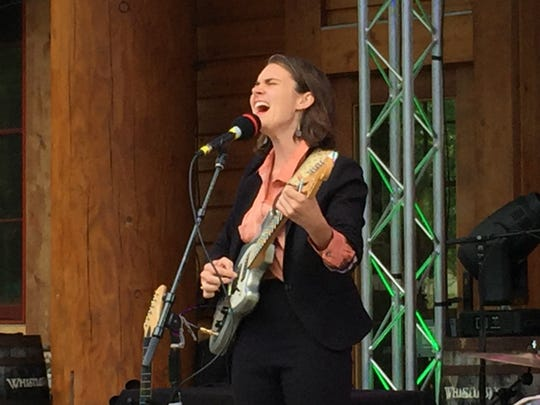 Vermont musician Francesca Blanchard, shown performing Aug. 10, 2019, at the Spruce Peak Folk Festival in Stowe, will play at 4:40 p.m. Saturday, Sept. 14, 2019 at the Grand Point North festival in Burlington.