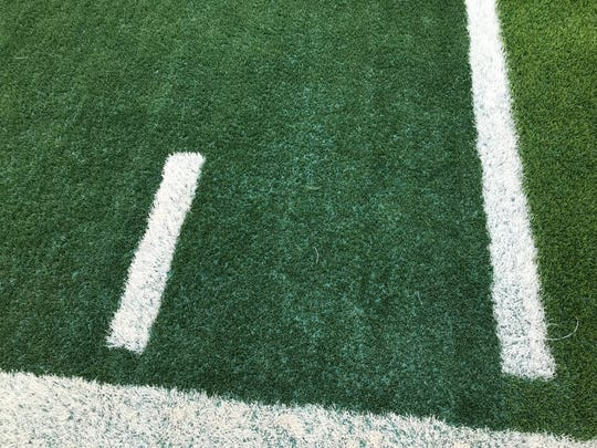 Hebbronville's new ecotherm turf can cool the field by 20 degrees