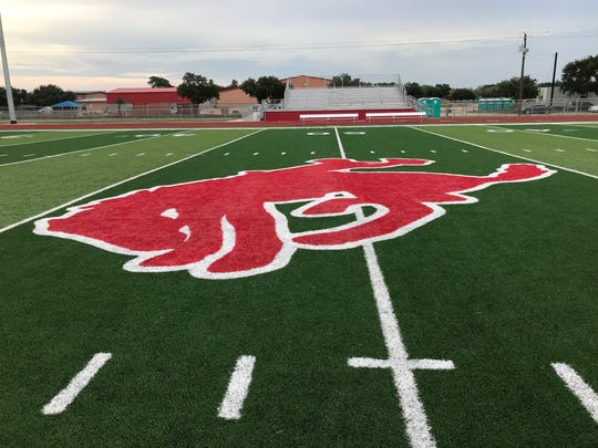 Premont's old practice field transformed with new turf