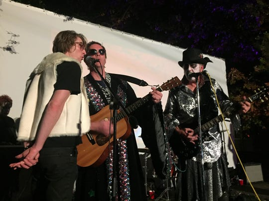 Candy Volcano, shown here playing a Halloween block party in Collingswood, will be part of the Merchantville Music Fest lineup.