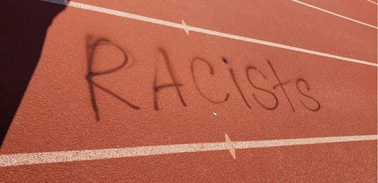 A vandalism at Anderson High School is under investigation.
