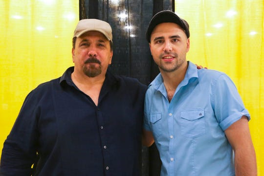 """Bruce Tango (left) of SyFy's """"Ghost Hunters"""" series, with son and the show's co-creator David."""
