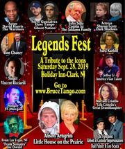 Bruce Tango will hold his first-ever Legends Fest on Sept. 28.