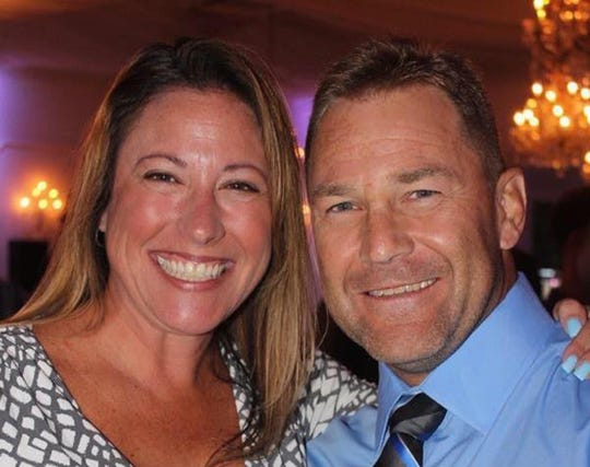 Chris Beagan, right, received a life-saving kidney donation from his loving wife, Laurie