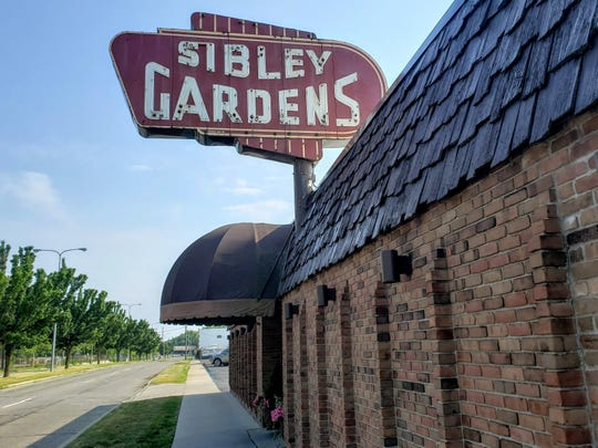 The windlowless throwback restaurant Sibley Gardens in Trenton has operated in a brick building across the street from the hulking McLouth Steel plant since 1949.