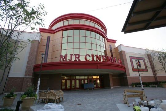 MJR Cinema 14 at The Mall at Partridge Creek PATRICIA BECK/Detroit Free Press