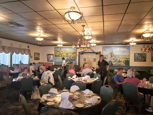 After the construction of I-75 split the formerly Hungarian sronghold in Detroit's Delray neighborhood, a large contingent moved Downriver. Today, the Hungarian Rhapsody continues to serve traditional Hungarian fare out of digs in Southgate its inhabited since 1993.