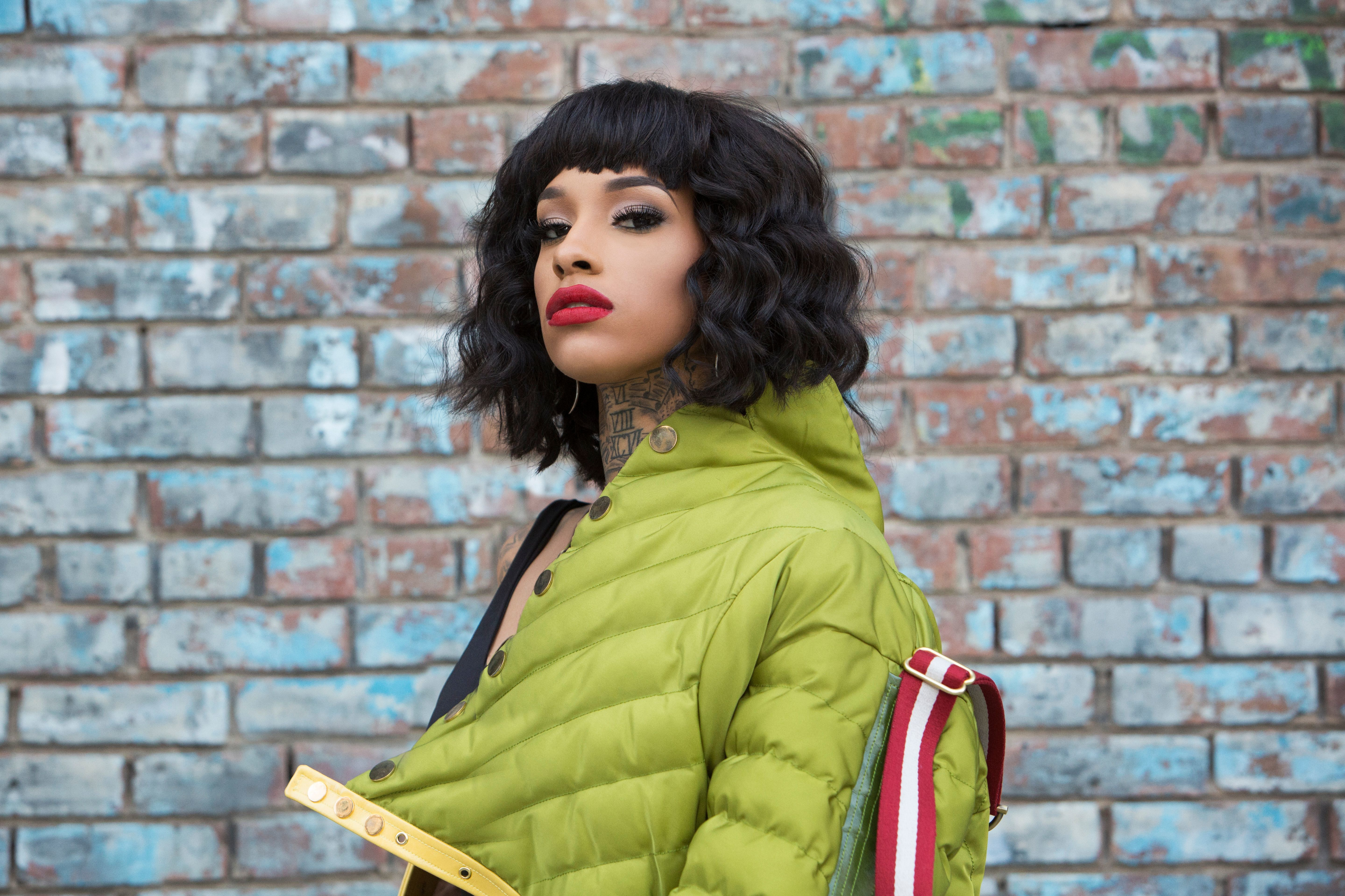 """Neisha Neshae is Detroit's self-proclaimed """"queen of R&B trap."""""""