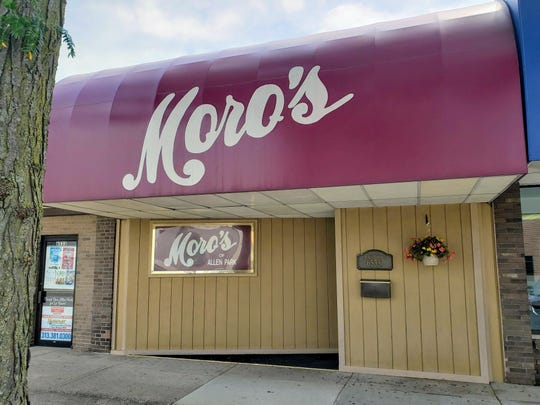 Moro's Dining in Allen Park has offered its Mediterranean-influenced steakhouse fare in a formal setting complete with tuxedoed waiters since 1980.