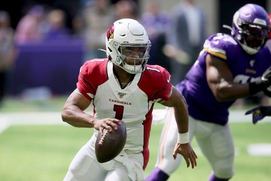 Cardinals quarterback Kyler Murray