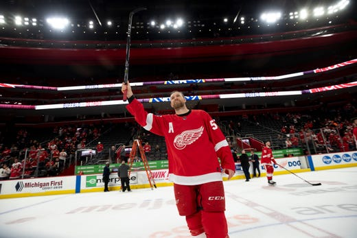 finest selection 355c0 bb106 Niyo: Timing was everything for Red Wings' Niklas Kronwall