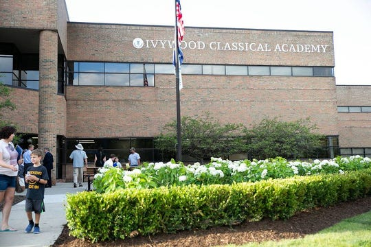 Ivywood ribbon cutting, Aug. 22