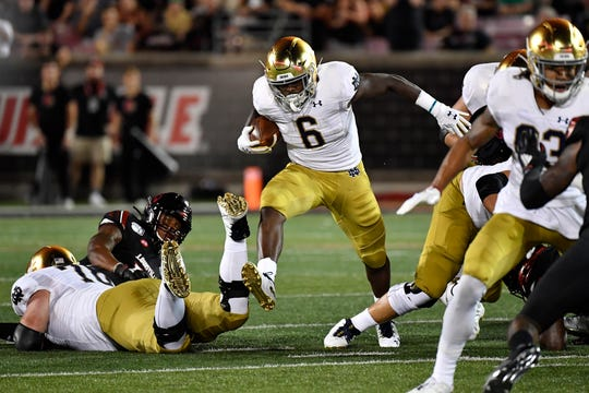 Monday S College Football No 9 Notre Dame Pulls Away From