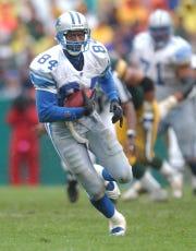 Former Detroit Lions wide receiver Herman Moore seen in 2001.