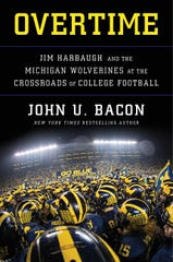 """Overtime: Jim Harbaugh and the Michigan Wolverines at the Crossroads of College Football,"" comes out on Tuesday."