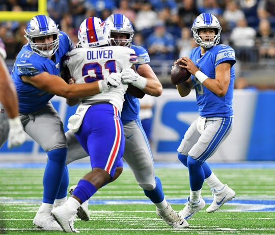 Quarterback Matthew Stafford (9) and the Lions will open the regular season on the road against the Cardinals.