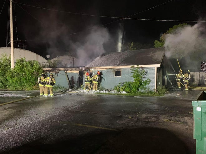 Fond du Lac Fire/Rescue crews worked for about a half an hour to put out a fire which began in nearby shed where a homeless person lived.