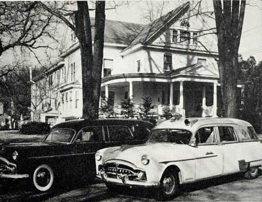 The Keller Funeral Home in 1956