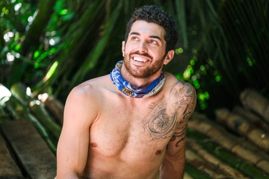 "Chris Underwood competed on ""Survivor"" earlier this year."