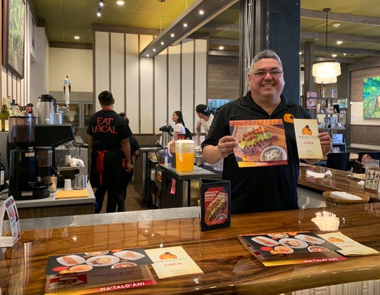 Pika's Cafeis now serving dinner bypopular demand, according to Gabriel Sinohuiz, director of operations at Guahan Eats, which operates Pika's Cafe and Little Pika's.Sinohuiz showcases the new dinner and drinks menu at the Tamuning-based Pika's Cafe on Tuesday, Sept. 3.