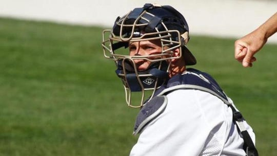 After transferring to Butler, Radley Haddad started 89 games at catcher his junior and senior years.