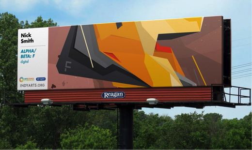 Vote for your favorite 'High Art' billboard in Central Indiana