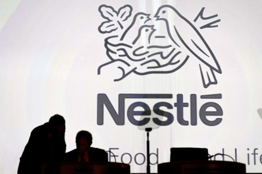 The Nestle logo.