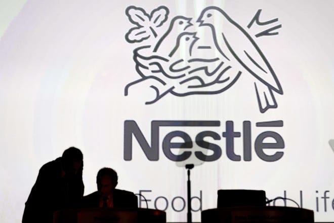 The Nestle logo.
