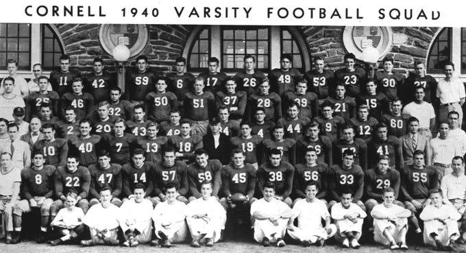 1940: Cornell 1940 varsity football.