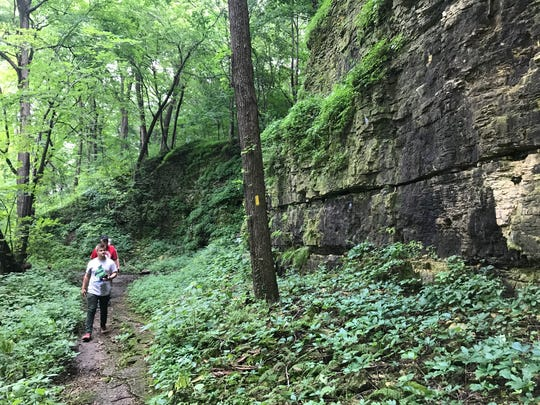 The retreat of glaciers in the southern part of Wisconsin left some dynamic landscape features along the Ice Age Trail. The 1,200-mile trail includes a stretch of 64 miles in Rock County.