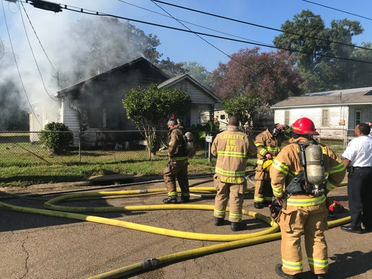 A house fire on Joan Street is suspected to have been caused by arson.