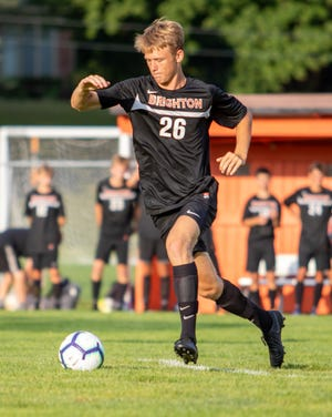 Brighton junior Josh Adam is the only returning first-team all-county soccer selection.