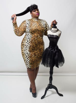 All is Fair in Love and Fashion CEO RaeShanda Johnson is wearing Lotus, $98