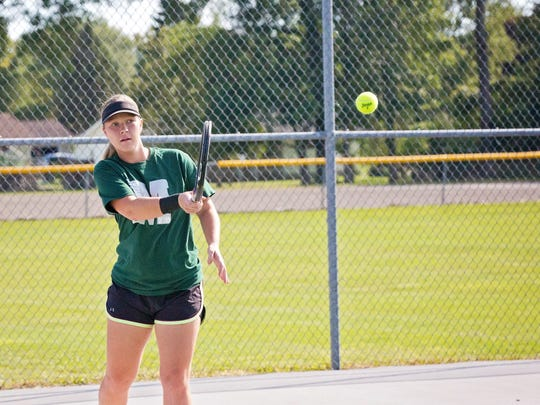 Madison's Caylynn Penney was praised recently by an opposing coach for her display of sportsmanship.