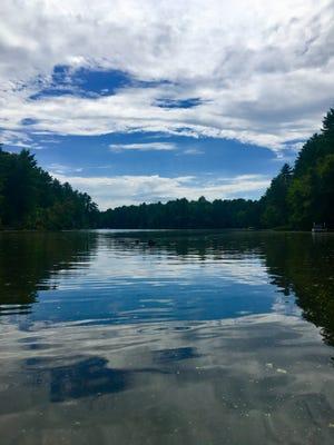 Mirror Lake near Wisconsin Dells.