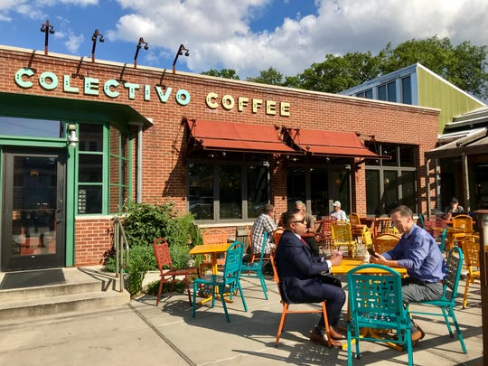 The Colectivo Coffee at 6745 W. Wells St. in Wauwatosa has ample outdoor seating.