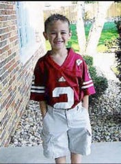 Wisconsin kicker Collin Larsh sported a No. 2 Badgers jersey as a youth.