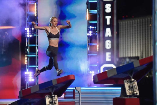 """Hartland native Taylor Amann's time on season 11 of""""American Ninja Warrior"""" came to an end during Stage 1 of the national finals Sept. 2."""