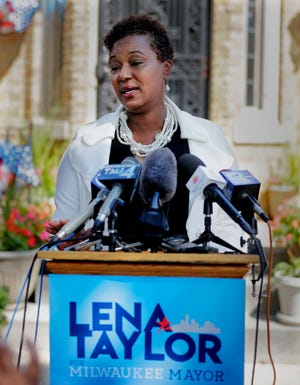 State Sen. Lena Taylor is challenging Mayor Tom Barrett for re-election in 2020.