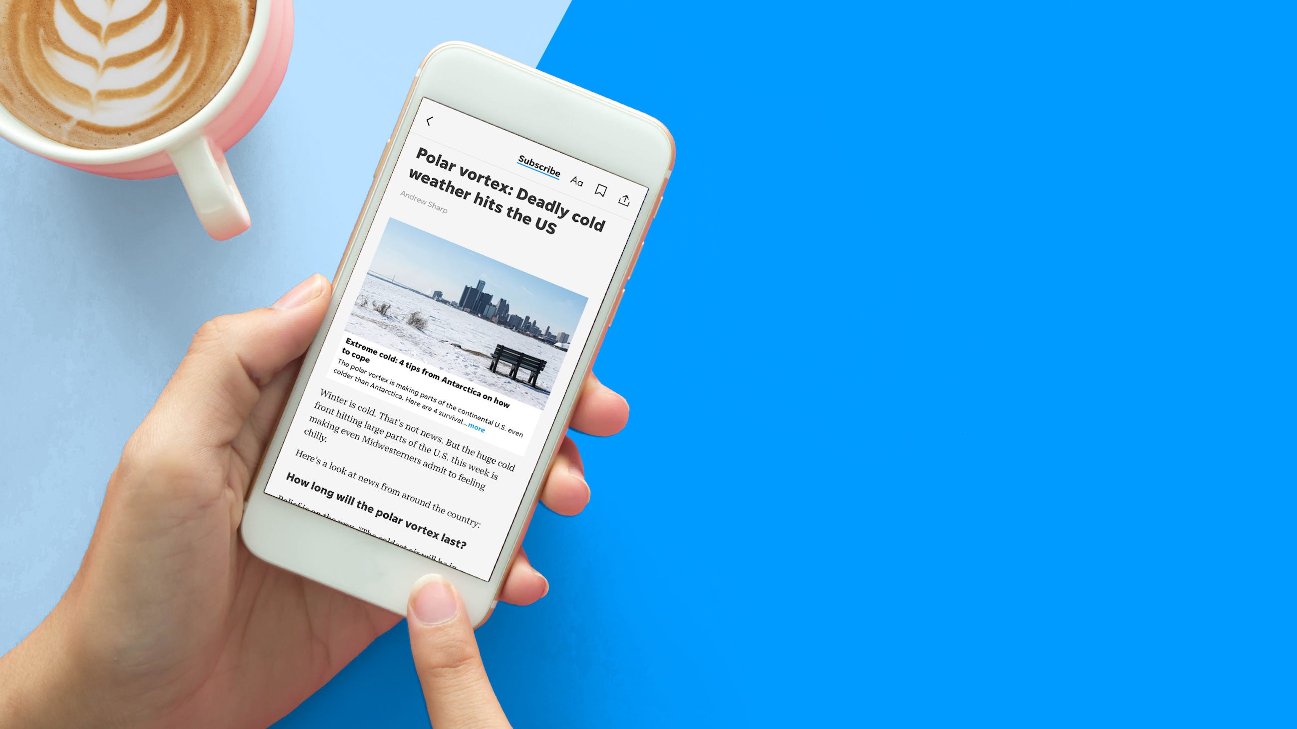 How to best experience The Daily Journal app