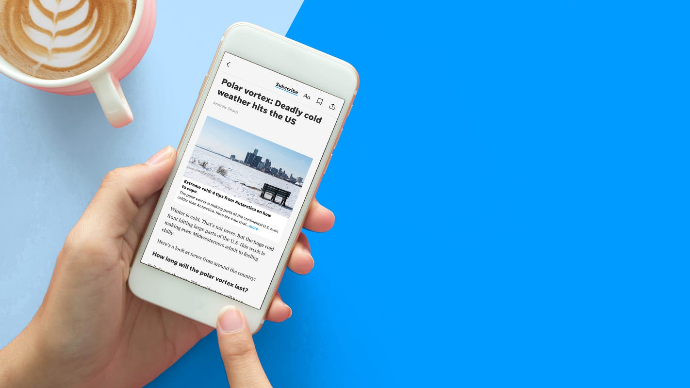 How to best experience the Des Moines Register app