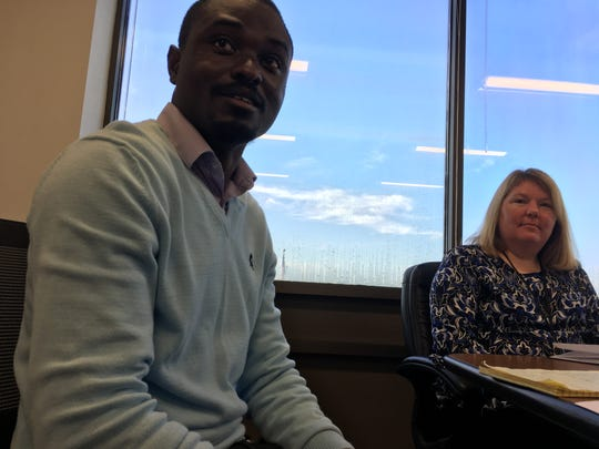 Yai Adegbola and Bobbie Griffith of the city of Gainesville talk about the progress and challenges involved in an open data initiative.