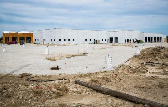 Construction of the new Greg Hubler Ford at 6400 Hometown Blvd. back in September 2019.