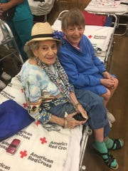 These are some of the faces from Osceola County, Florida, who are staying in a Red Cross shelter in anticipation of Hurricane Dorian.