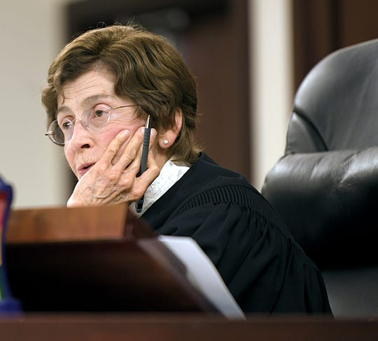 Judge Cheryl Blackburn ruled 42 additional criminal counts related to the Burnette Chapel Church of Christ shooting from her Nashville courtroom on Tuesday, Sept. 3, 2019.