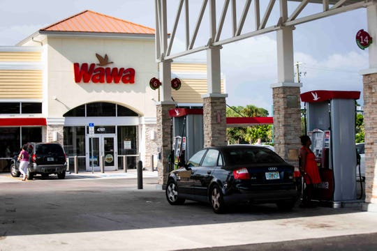 When Wawa stores in Florida ran out of regular gas as people stocked up on fuel ahead of Hurricane Dorian, they requested the state give them permission to sell higher grade fuel at the same price.